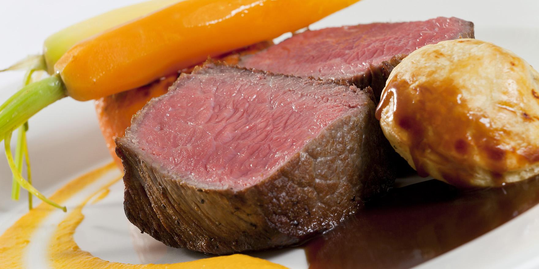Feirme ná dúrtha dry aged fillet of beef