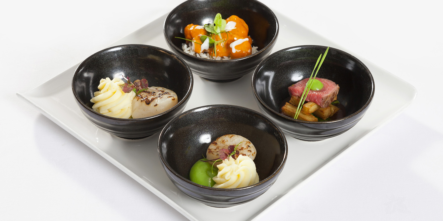 Selection from our Bowl Dining Menu